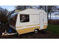 2-Berth Vintage Caravan 1970s
