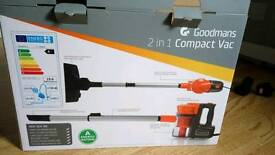 Goodmans 2in1 Compact Vac