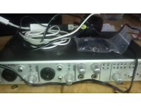 M-Track Audio Interface Firewire, incl. all adapters