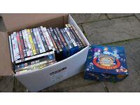 Box of 50+ DVDs. Futurama box set.