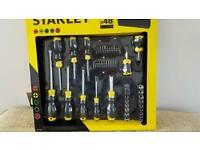 Stanley 48piece Screwdriver set