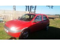 Vauxall Corsa 1.2 MOT end April 17, only 60k on clock