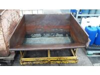 Tipping Skip for sale. 2 of 3. £175.00 each or all 3 for £400.00.
