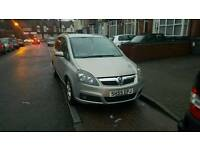 vauxhall zafira 1.8 2005 7 seater lpg/gas quick sale