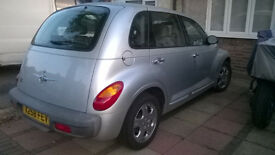 CHRYSLER PT CRUISER LIMITED EDTION MOT 65,000 ORIGNAL MILEAGE £675.00 OVNO