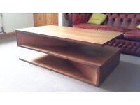 Large designer coffee table