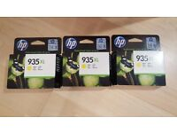 935 XL Yellow Printer Ink Cartridges