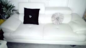 White Sofa Suite