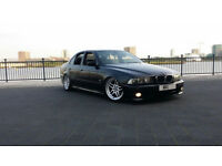"BMW E39 530D TURBO - BREAKING PARTS - SPARES 18"" PARALLEL- LEATHERS - M SPORT BUMPERS AIR BAG KITS"