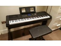 Yamaha DGX650 Digital Piano - Black