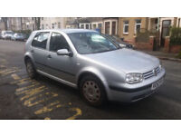 2003 VW GOLF 1.4 E MET SILVER,EXCELLENT RUNNER,SPARES OR REPAIRS