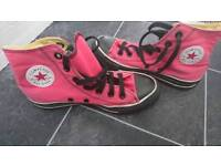 Converse All Star Pink size 4