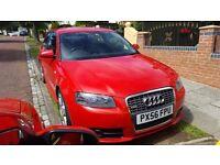 Audi a3 2.0 tdi sline 170bhp diesel mint car not a4 s3 s4 astra bmw golf seat skoda vw