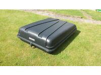 large roofbox 415 litre, AutoPlas in black. £35.00 quick sale