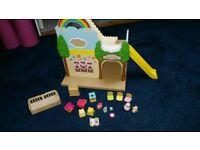 Sylvanian Family Rainbow Nursery