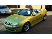 WONDERFUL SAAB 9.3 CONVERTIBLE 2.0 TURBO