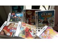 A variety of nintendo ds games
