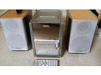 Panasonic stereo SA-PM28 5 cd changer, radio, casette