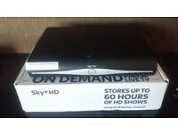 Sky+hd box £10