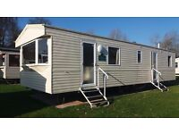 3 bedroom 8 berth pet friendly static caravan for rent