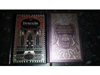 Dracula/Dorian Gray. Pair of beautiful books a wonderful xmas gift for an avid reader