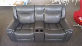 ScS Endurance Baxter 2 Seater Electric Recliner Sofa with Console & USB Ports **CAN DELIVER**