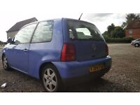 Vw lupo SDI deisel. Cheap car and very eco. 11months MOT quick sale. Cheap insurance for First car