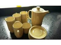 Poole pottery set superb quality and condition.
