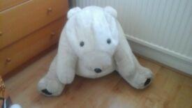 giant polar bear teddy