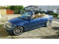 STUNNING LOW MILEAGE 2005 BMW M-SPORT CONVERTIBLE HPI CLEAR FULL SERVICE HISTORY LONG MOT BARGAIN