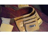 suede tool belt £5