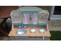 Early Learning Wooden Country Kitchen