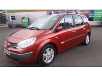 7 SEATER RENAULT GRAND SCENIC MANUAL IN GREAT CONDITION. MOT AUGUST 2017. ONLY 1 OWNER. HPI CLEAR