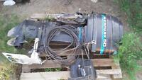 50 HP Mercury 2 stroke outboard motor with controller
