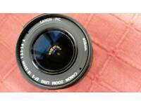 Canon efs 18 - 55 macro zoom