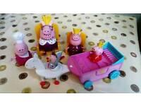 Peppa pig royal items