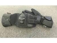 Richa medium motorcycle gloves.