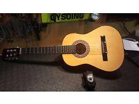 Lauren 3/4 Acoustic Guitar and Case.
