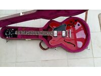 Gibson 335, made in Nashville, 1997, Cherry red