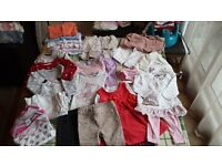 6 to 9 months baby girl clothes bundle in very good condition!