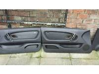 bmw leather rear & front door card