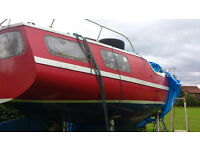 """sail boat """"big size"""" and double wheel trailer"""