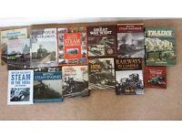 Variety of Steam Train Books