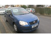 2007 VOLKSWAGEN POLO 1.2 LOW INSURANCE, LOW RUNNING COSTS