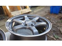 FOX motor sport wheels 4x100