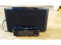 Sony XDRDS12IP iPod/iPhone Speaker Dock with Clock Radio Function