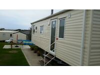 2 BEDROOMED CARAVAN FOR HIRE AT HAVEN LITTLESEA HOLIDAY PARK WEYMOUTH 26/03/2017-03/04/2017 @ £217