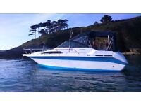 Boat for Sale Searay Sundowner 250 1989 Mercruiser 5.0LX Bravo Sterndrive.