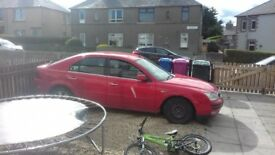 My ford mondeo very good body work for age