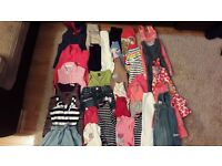 Girl bundle of clothes 2-3 years